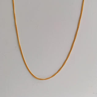 916 Gold V Chain Necklace