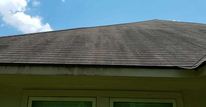 AquaStream Soft Wash Roof Cleaning Baton Rouge Demonstration