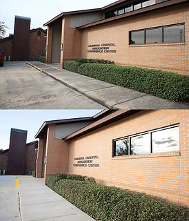 Commercial Pressure Washing a facility in Baton Rouge