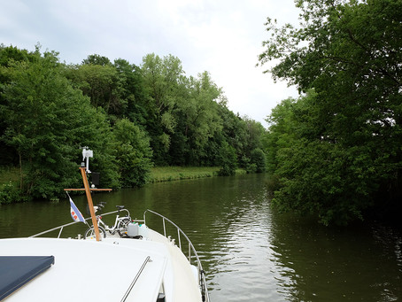 Premières heures sur la Petite Saône