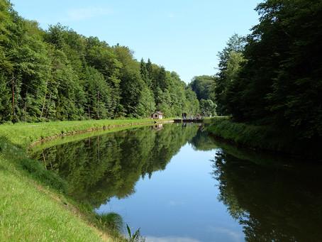 Canal des Vosges, avalant.