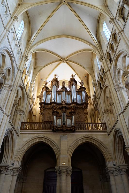 L'orgue de l'église abbatiale
