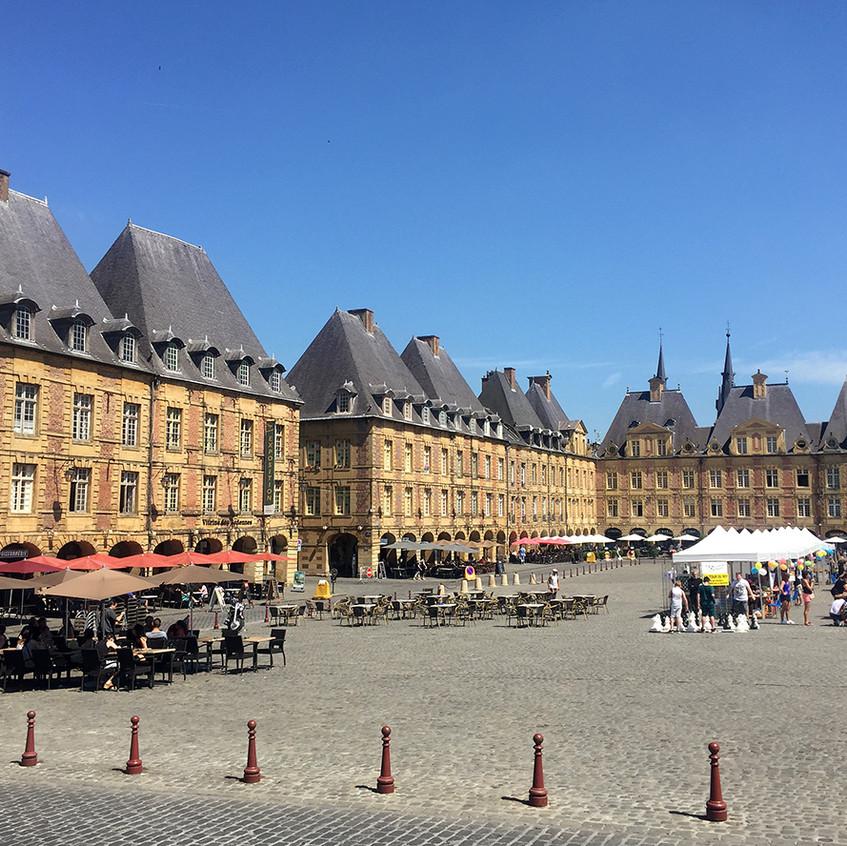 Charleville-Mézières, la Place Ducale