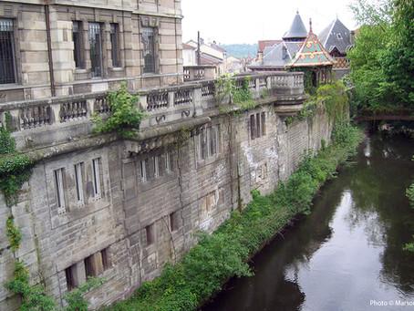 Canal des Vosges, montant