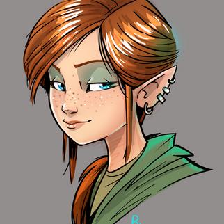 Sanya re design- Sanya character work