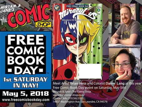 Free Comic Book Day 2018!