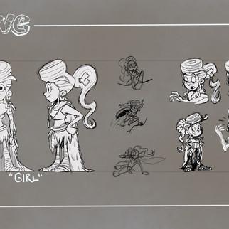 Cave Girl Turnaround