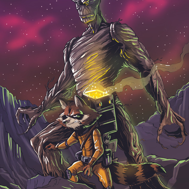 Rocket & Groot 1
