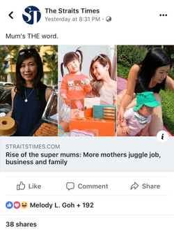 TheStraitsTimes_Rise of the Super Mums