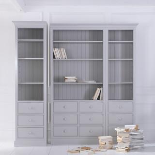 pine bookcase - QUADRA - furniture