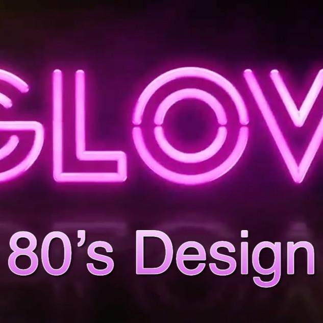 "The 80's Set Decor of ""GLOW"""