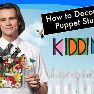 """""""Kidding"""" - Behind the Scenes of decorating Mr. Pickles puppet studio!"""