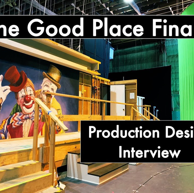 Listen and see the sets of The Good Place FInale Pt1