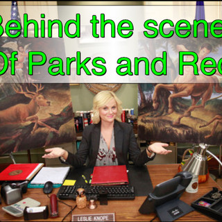 BEHIND THE SCENES OF PARKS AND REC with Designer Ian Phillips!