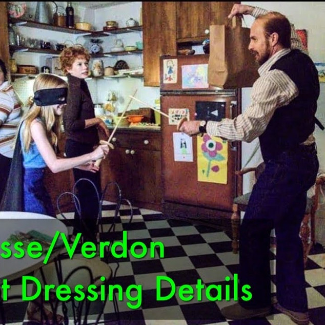 Fosse/Verdon Set Decorating