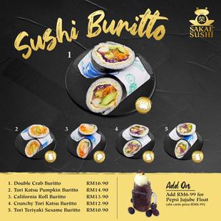 Sushi Buritto