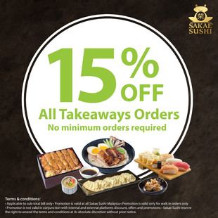 MCO 3.0 - 15% Takeaway Discount