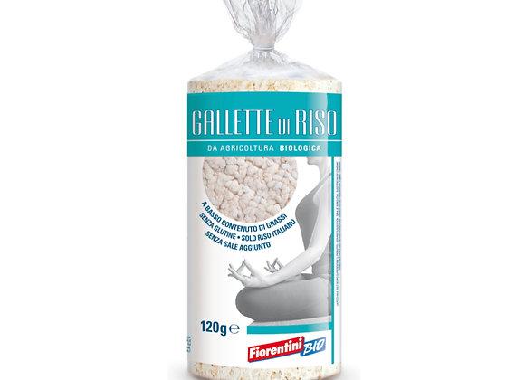 Galleta de arroz orgánica