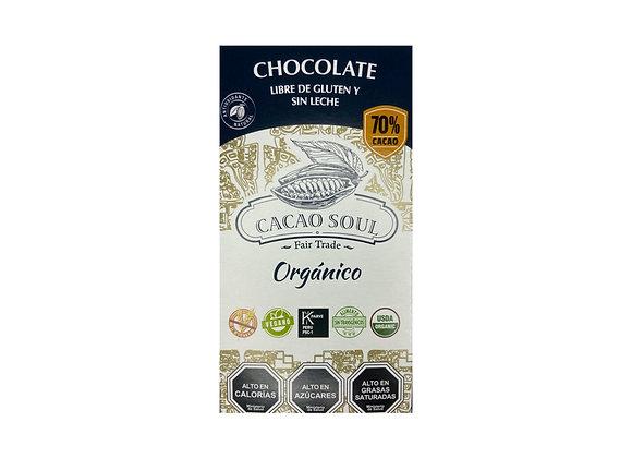 Chocolate orgánico 70%