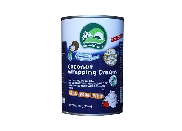 Crema de batir de coco