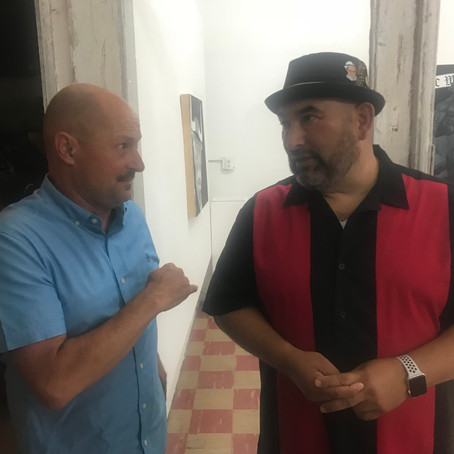 Paiement and Alejandre to give Artist's Talk