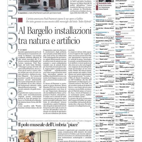 Paiement's European museum debut opens to rav reviews