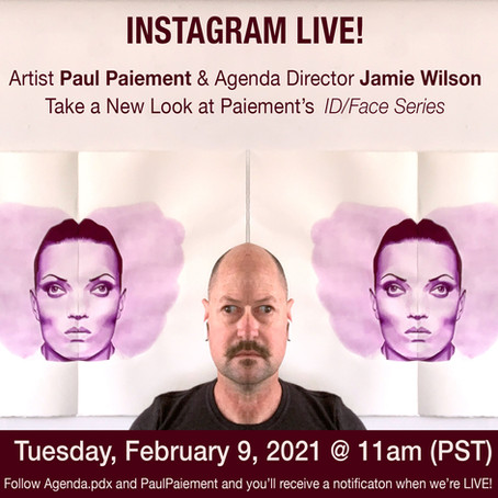 Watch Paiement and Jaime Wilson on IG Live--Tuesday, February 9th!