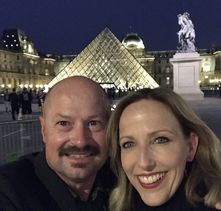 Opening Night at The Lourve, Paris!
