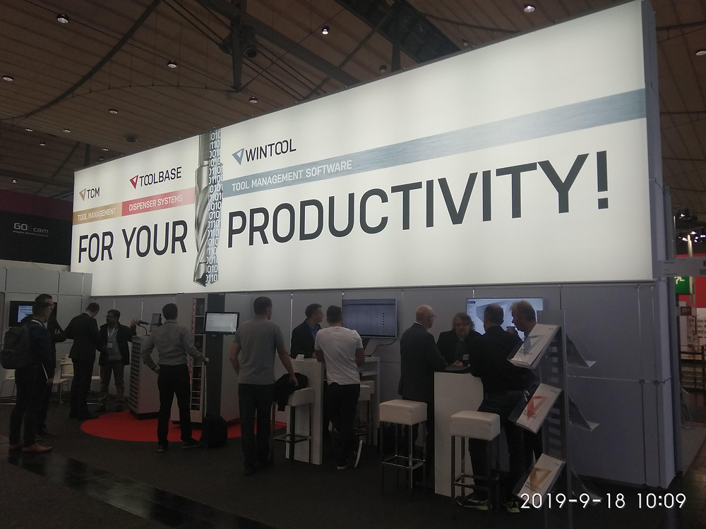 EMO 2019 WinTool booth