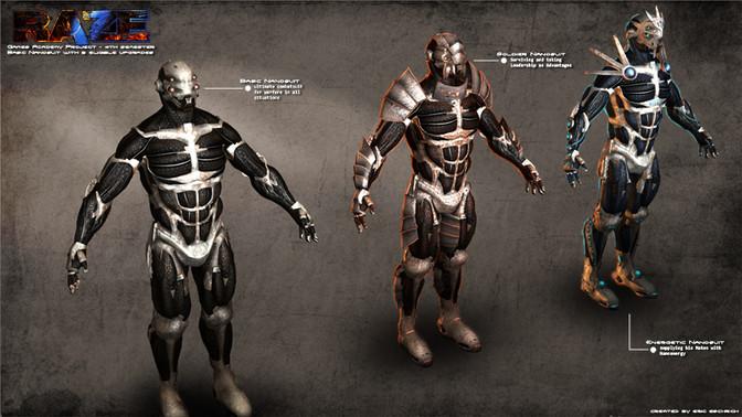 Character Modeling Nanosuit Enhancements