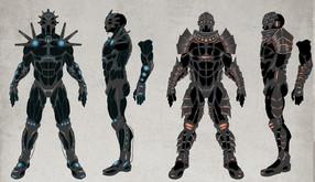 Nanosuit Enhancements Concept Art