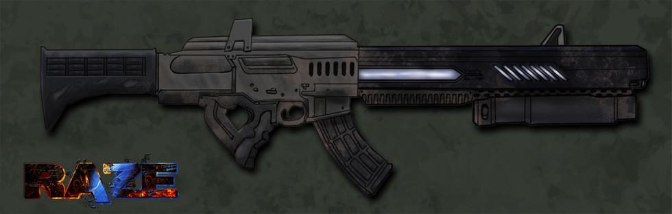 Energy weapon concept art