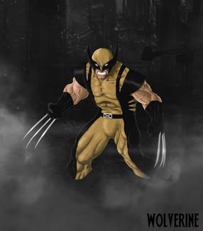 Wolverine digital Painting