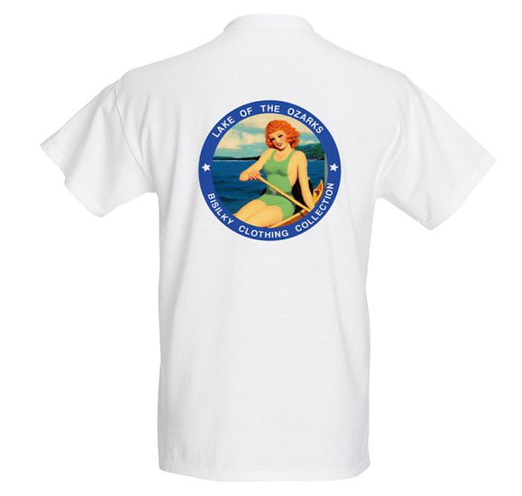 T-shirt Lake Ozark Homme