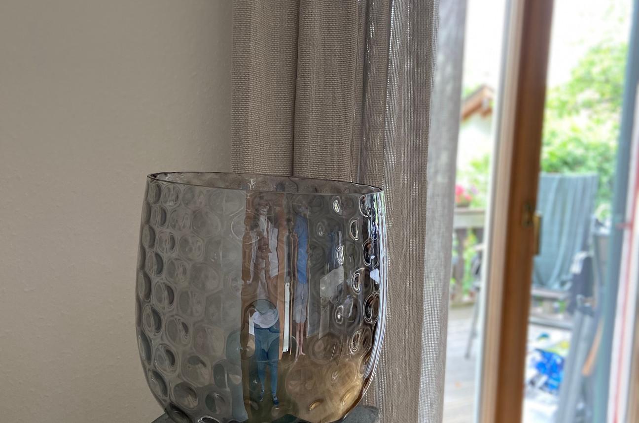 Vase + Steinsäule