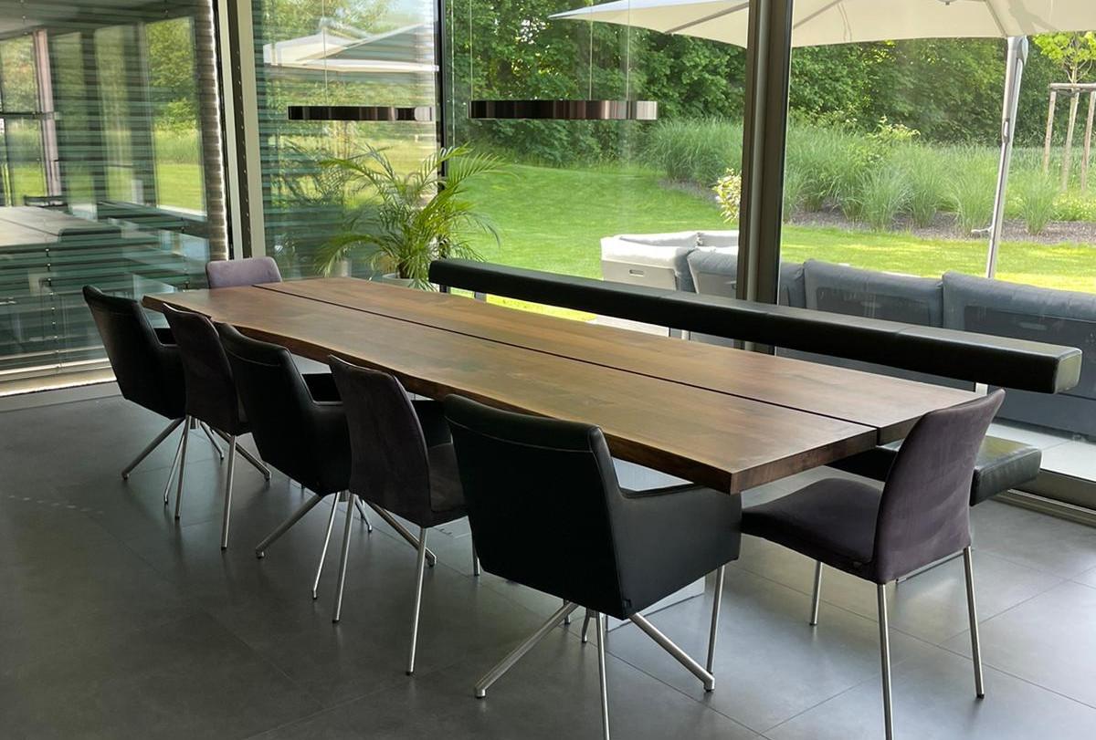 Neuen Essbereich gestaltet mit exklusiven Möbel