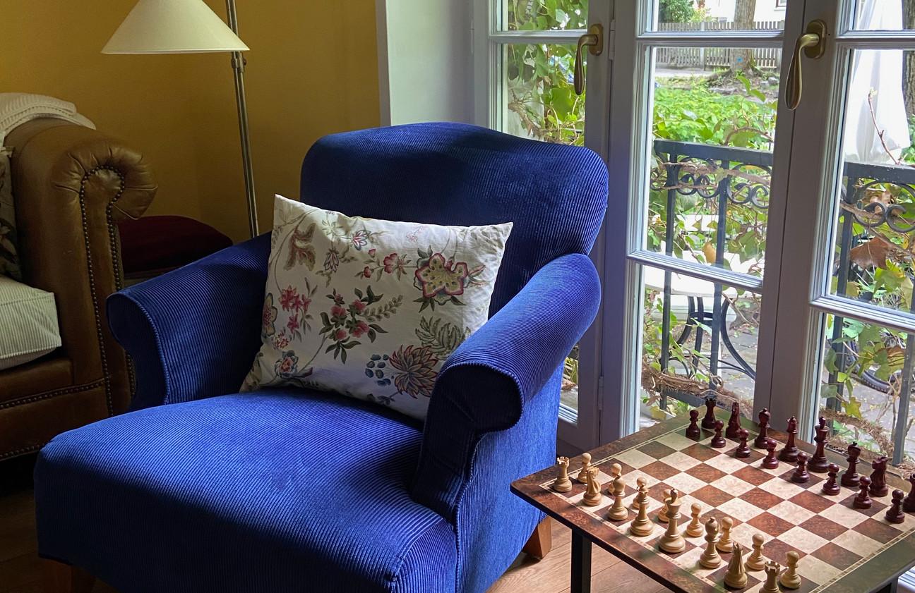 Sessel neu bezogen - Stoff Zimmer & Rhode