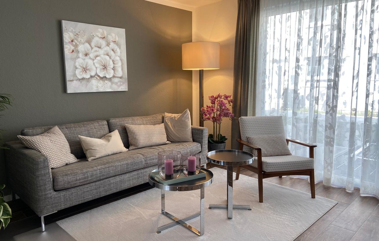 Wohnzimmer komplett neu Gestaltet ( Neubau ) direkt nach Kundenwunsch