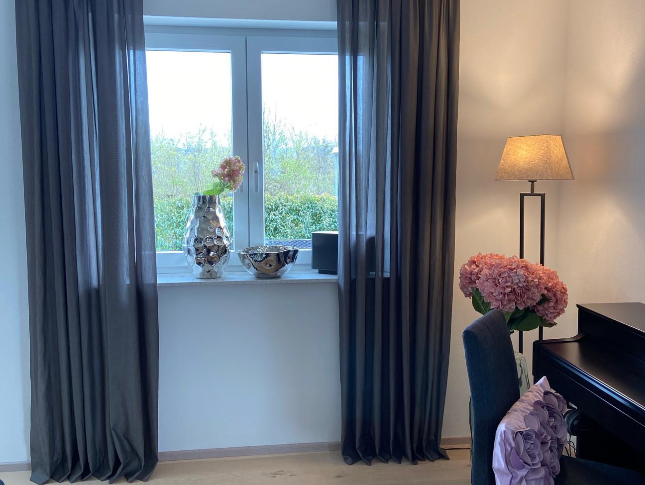 Wohnzimmer neu gestaltet inkl. Dekoartikel