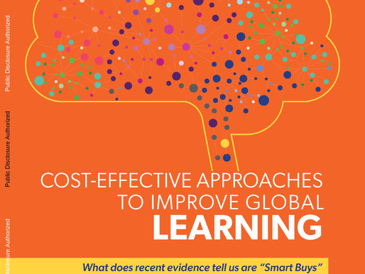 Approaches to Improve Learning in Low and Middle Income Countries