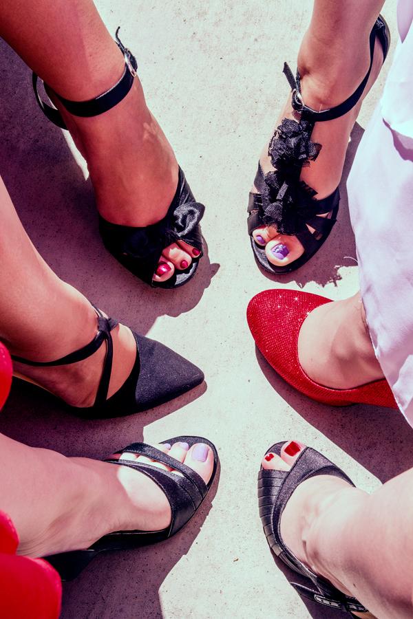 Red Shoe Sunday