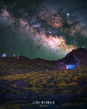 Milky Way La Palma