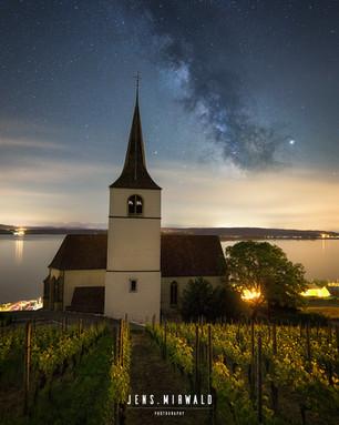 Church in Ligerz, Switzerland