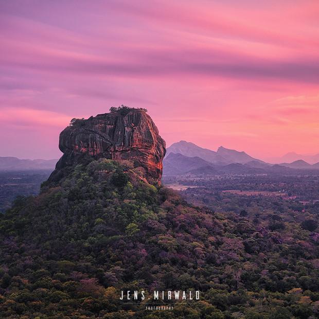 Lions Rock, Sri Lanka