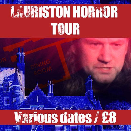 The Lauriston Castle Horror Tour