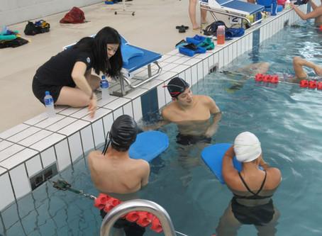Paraguay Para-Swimmers at NSSU training camp