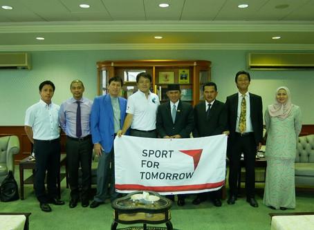 Brunei now took off toward Tokyo 2020