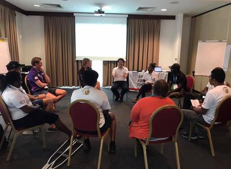 Reflection Workshop on Arafura Games
