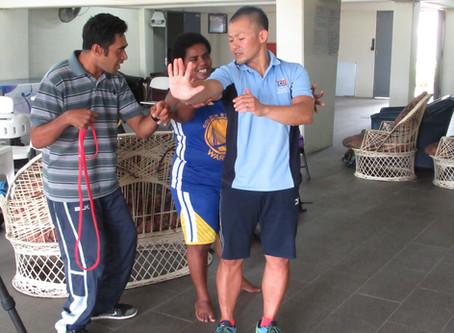 Para coaching workshop in Fiji