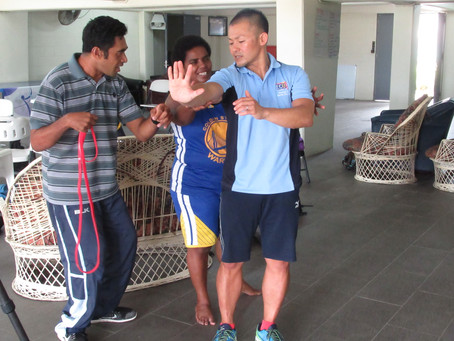 Para coaching workshop in Fiji